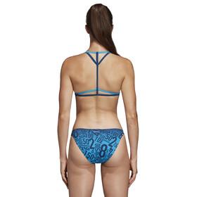 adidas Pro EBS 2 Piece Bikini Damen shock cyan